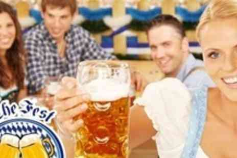 Octoberfest Pub - Oktoberfest Platter For Two With Bottle of Beer - Save 67%
