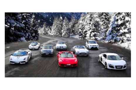 Supercars Scotland - Three driving laps and 3 passenger hot laps in a choice of supercar  - Save 0%