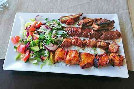 Bosphorus Restaurant - Two Course Turkish Mixed Grill For Two - Save 55%