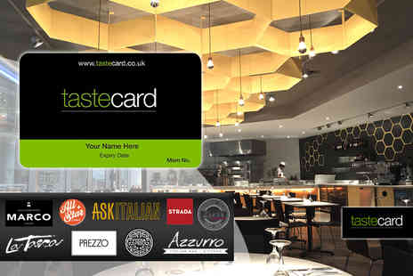 Taste Marketing - 12 month tastecard  - Save 56%