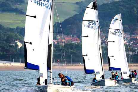Colwyn Bay Watersports - Half Day Sailing or Windsurfing Taster - Save 33%