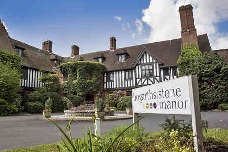 Hogarths Stone Manor Hotel - West Midlands Countryside Escape with Cream Tea or Sparkling Afternoon Tea - Save 32%