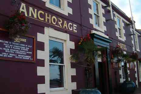 The Anchorage Hotel - One Night stay For Two With Breakfast and Wine - Save 0%