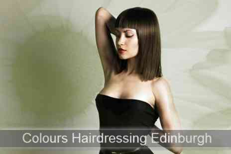 Colours Hairdressing - Cut, Blow Dry and Conditioning Treatment for £16 at Colours Hairdressing (£40 Value) - Save 60%