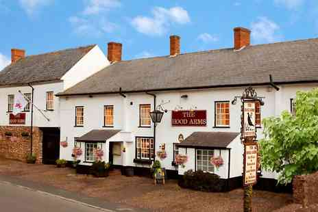 The Hood Arms - Two or Three Nights stay For 2 With Breakfast And Bottle of Prosecco - Save 54%