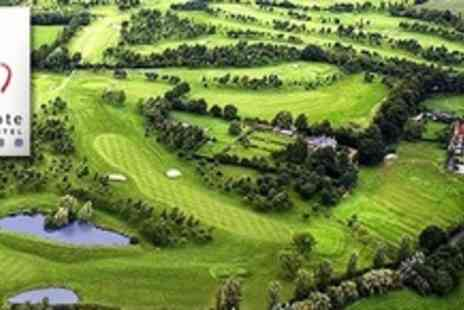 Draycote Hotel - Two Night Golf Break For Two With Breakfast and Rounds of Golf - Save 62%