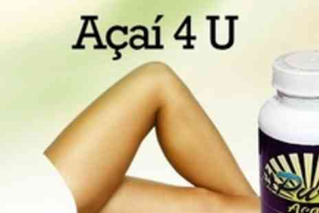 Acai 4 U - Acai Berry Plus Capsules For Two Months - Save 73%