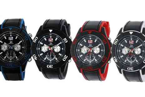 BuyBay BV - Choice of Joshua & Sons Bold Swiss Quartz Strap Watch - Save 80%