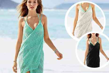 BuyBay BV - Lace Bikini Beach Wrap Dress - Save 45%