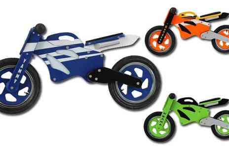 Kidzmotion - Wooden Balance Bike - Save 68%