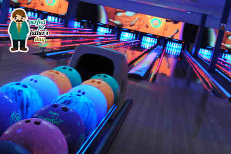 World Of Bowling -  60 minutes of bowling for up to six  including pizza to share  - Save 57%