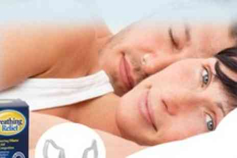 Breathing Relief - Perfect Anti-snoring and Sports Breathing aid! - Save 50%