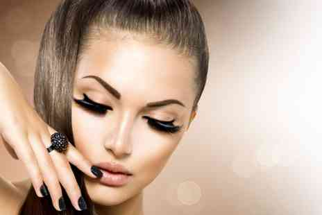 Harps Hair & Beauty Salon - Semi permanent makeup on one area  - Save 54%