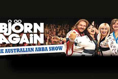 Live Promotions Events - One ticket to see Bjorn Again perform live  - Save 10%
