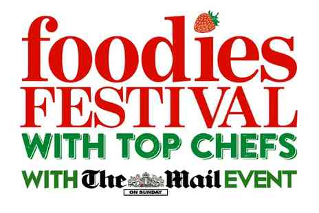 Foodies Festival - Ticket to Foodies Festival  - Save 44%