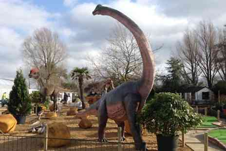 Golf Attractions - Family Ticket to Jurassic Golf  - Save 60%