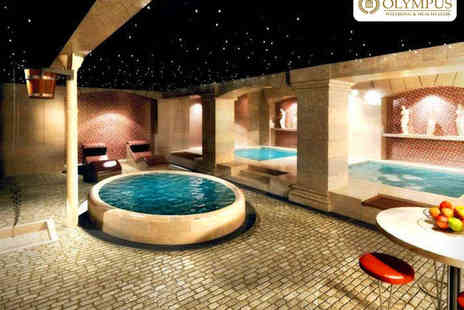 Olympus Wellbeing and Health Club - Indulgent Spa Day with Back Massage, Facial, and Use of Spa Facilities for One  - Save 47%