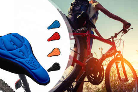iThink Gadgets - Gel Bike Seat Cover - Save 77%