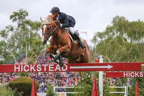 Hickstead - Ticket  to The Equestrian.com Hickstead Derby Meeting - Save 55%
