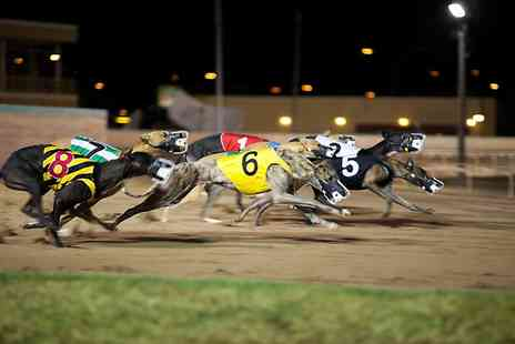 Swindon Greyhounds - Races With Burger and Beer For Two - Save 73%