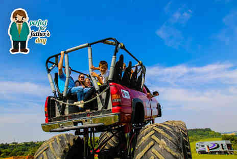 Wicked Adventures - Monster truck ride and car crushing experience for one  - Save 51%