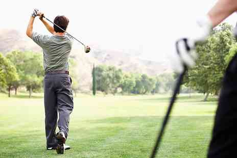 Breedon Priory Golf Centre - 18 Golf Holes Plus Coffee For Two - Save 53%
