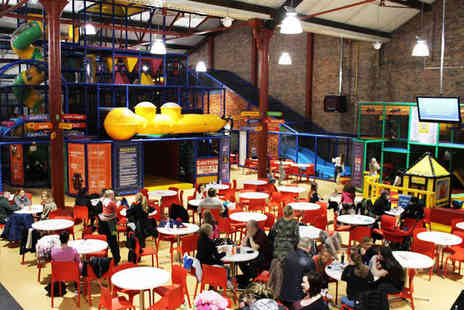 The Yellow Sub - Family Ticket for Two Adults and Two Children to Childrens Play Centre - Save 50%
