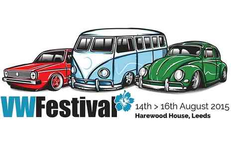 VW Festival - Ticket to VW Festival For One Child  - Save 37%
