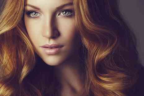 H and M Hair & Beauty - Cut, Blow Dry and L'Oreal Treatment  With Colour or Highlights - Save 63%