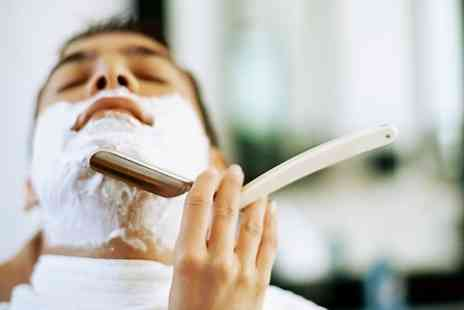 Truth or Dare Incorporated - Mens Cut and Finish With Hot Towel Wet Shave  - Save 50%
