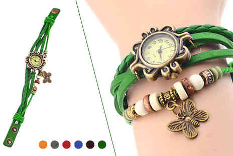 Widgetlove - Butterfly Bangle Watch - Save 81%