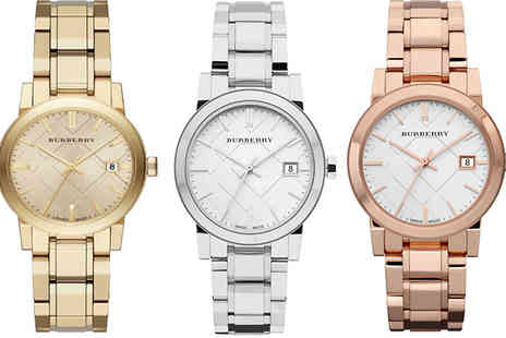 Designer Zone Watches - Ladies Burberry Watch - Save 28%