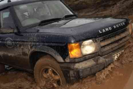 Drive Me -  4 x 4 off road driving taster - Save 63%