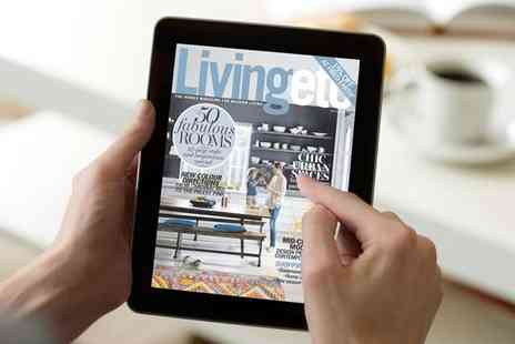 House to Home - Livingetc for 12 Month Digital Subscription - Save 71%