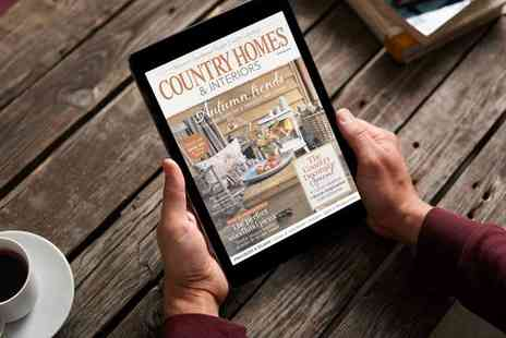 Timeinc - Country Homes & Interiors for 12 Month Digital Subscription - Save 71%