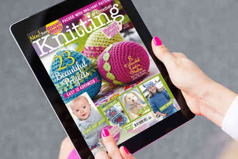 Womans Weekly - Knitting & Crochet for 12 Month Digital Subscription - Save 77%