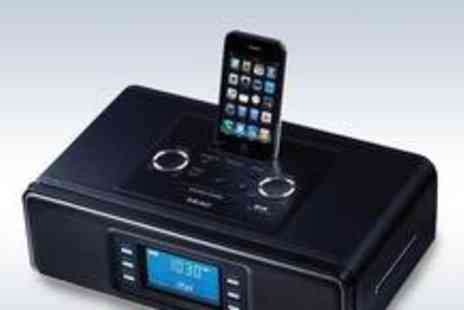 iQue - TEAC SR2 DAB clock radio with iPod dock - Save 46%