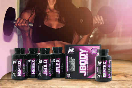 JST Nutrition - JBODY Beautiful supplement collection and 30 day supply of SEMTEX Fat Burner - Save 57%