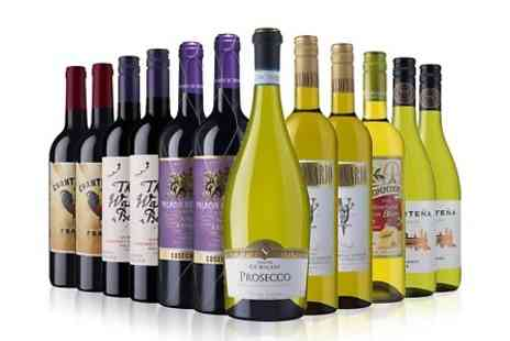 Laithwaites Wine Merchants - 12 Bottle Case of Red, White or Mixed Wines - Save 53%