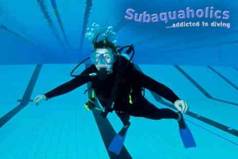 Subaquaholics - Two Hour Scuba Lesson for £9  - Save 64%
