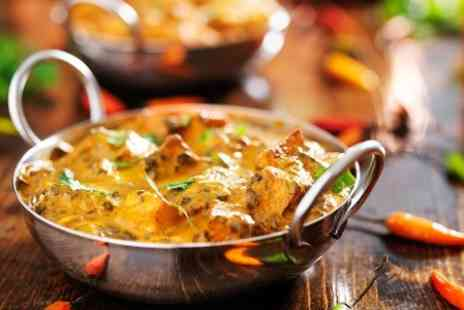 India the restaurant - Indian Meal With Rice For Two - Save 59%