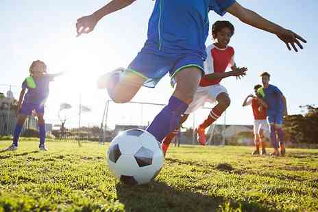 Inside Football - Kids Football Party With Food  - Save 60%