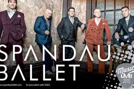 VMS Live 2011 - Ticket to Spandau Ballet Live and Race Day  For Adult  - Save 0%