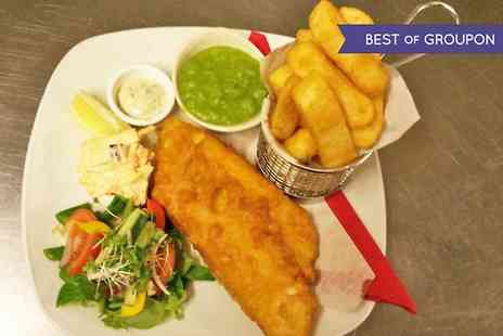 Fredericks - Fish and Chips For Two  - Save 50%