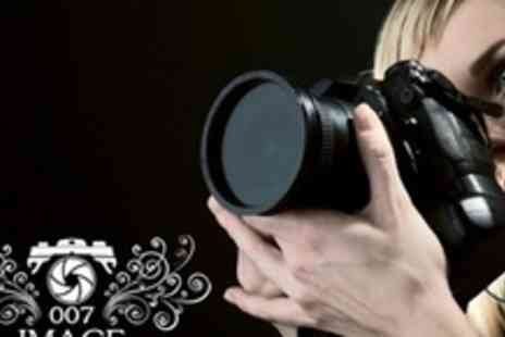 007 Image Photography - One Hour Photo Shoot With Three 6� x 4� Prints - Save 86%