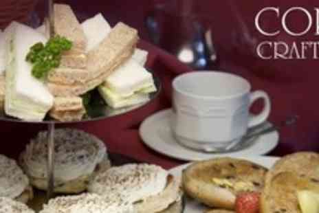 Corn Craft - Afternoon High Tea for Two - Save 59%