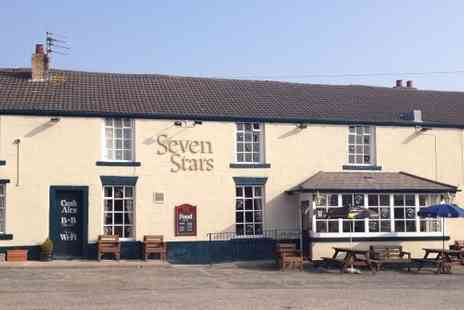 Seven Stars -  Sunday lunch for two  - Save 50%