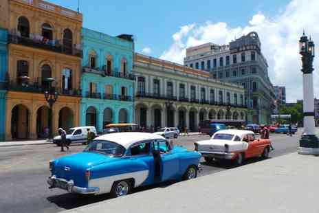Be Enchanted by Cuba - Spend Ten or Eleven nights discovering Cuba with return flights, Four star hotels and more - Save 30%