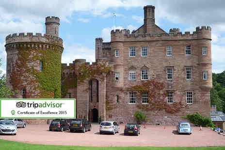 Dalhousie Castle - Spa experience for one person including one treatment, afternoon tea, Prosecco and 2 hour use of all spa facilities  - Save 52%