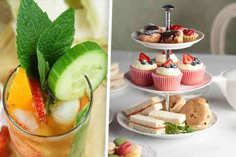 Dakota Nottingham - Luxury afternoon tea for two including a glass of chilled Pimms each    - Save 0%